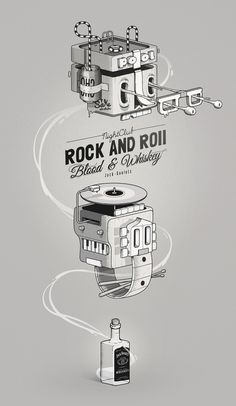 Pinned Image #illustration #jack #daniels #mcbess