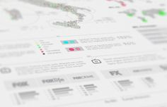 FOX international channels Infographics on the Behance Network #dhnn #infographic #design