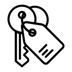 See more icon inspiration related to key, keyword, house key, house, real estate, home, security and Tools and utensils on Flaticon.