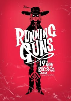 Running Guns #design #poster