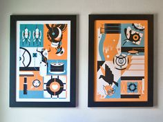 Portal_prints #illustration #screenprint
