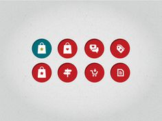 Iconset for shopping app 2