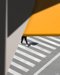 Colorful and Minimalist Street Photography by George Natsioulis