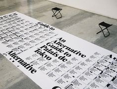 An Alternative Guide to Palais de Tokyo_1200.jpg 900×689 pixels #typography