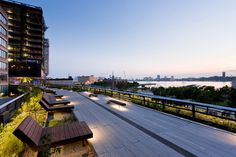 CJWHO ™ (The High Line, Manhattan, New York The High Line...) #green #amazing #line #garden #design #landscape #park #manhatten #architecture #york #high #new