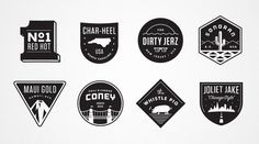 Dribbble - JJ_BADGES.jpg by Matt Stevens