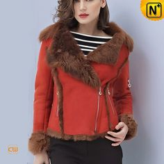 Toscana Shearling Jacket for Women CW644123 #jacket #shearling #toscana
