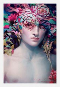narcissus.jpg (JPEG Image, 680x980 pixels) #narcissus #art