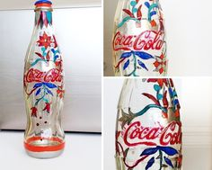 Luca Molnar | Works & Inspiration & Stuff #coke #polish #bottle #coca #illustration #made #nail #hand #cola