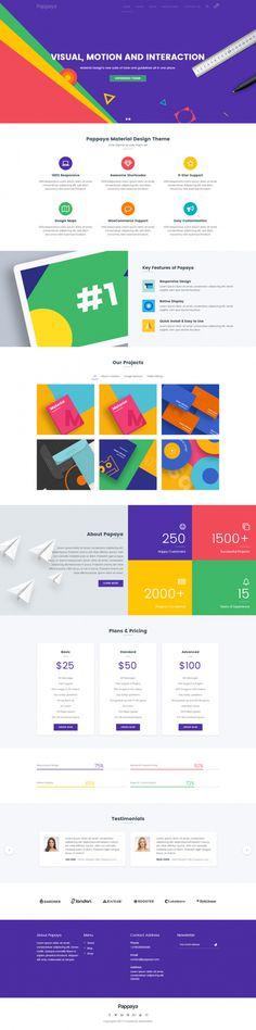 Pappaya – Material Design