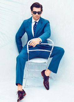 Blue Suits for Men New Blue Suits 2012 Esquire #international #shoes #fratelli #klein #blue #rossetti #suit