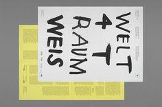 SI Special: Hannes Gloor & Stefan Jandl | September Industry #design #graphic #typography
