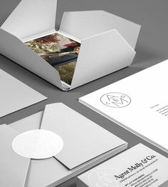 Agent Molly & Co by Twenty-Five Art House #branding #stationary