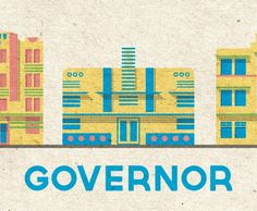 Lost Type Co-op | Governor #logo #paper #typography