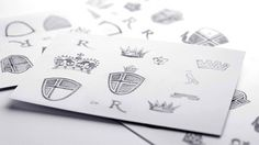 Liverpool English Pub | Identity Designed #logo #identity #collateral #branding