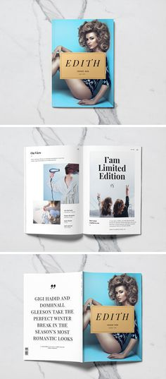 #Free A5 #Magazine #MockUp