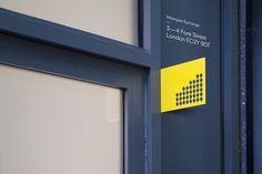 dn #branding #yellow #dnco #moorgate exchange