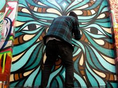 | Documenting Street Art and Graffiti in print since 2006 #mural #graffiti #turquoise #beastmen #europe
