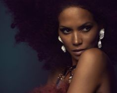 neonfix - hair - make up - style: Halle Berry for Interview Mag #berry #portrait #halle