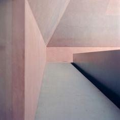 James Turrell #art #pink #shapes #pastel #james turrell