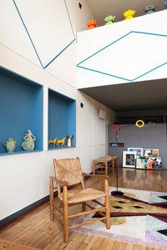 Le Corbusier Apartment 50 at the Unité d'Habitation in Marseille