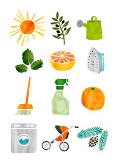 Various Illustration (Matt Lehman Studio( #illustration #logo #fruit