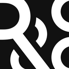 R&Co. Logo [abstract crop] - http://r ny.com #mark #symbolism #logo #symbol #type #typography