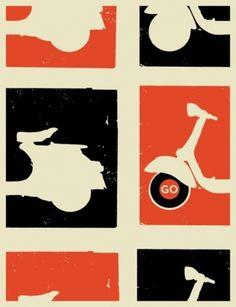 Monoscope's Hell Box #vespa #poster