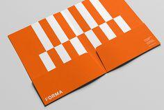 Forma by About Design #orange #branding #stationary #folder