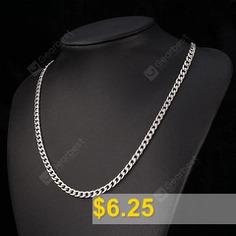 Titanium #Steel #Link #Necklace #- #TITANIUM #GREY