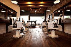 Baxter Finley Barber hipshop in LA. #interior #design #store #barbershop #concept #hipshops