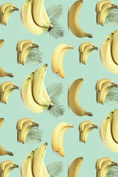 Tumblr #yellow #banana #palm