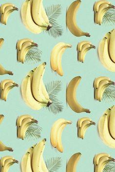 bananananana #yellow #banana #palm