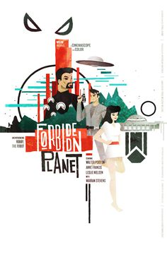 Ricky Linn Silver Screen Society #planet #forbidden