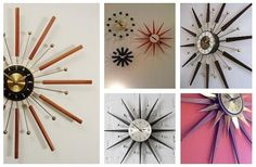 Patent Pending Projects: Starburst Clock Project