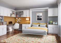 integrated murphy bed design