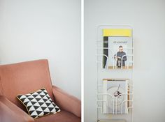 Interior at Stories café #stories #cafe #pastel #scandinavian #branding #identity #coffee #juice