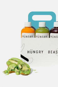 Hungry Beast originates from the need to create a café and a place where health meets casual. It was designed with a big personality, with a focus on health-consciousness, but wanted to avoid the in your face attitude of most commonly associated with the health trend. For more of the most beautiful designs visit mindsparklemag.com