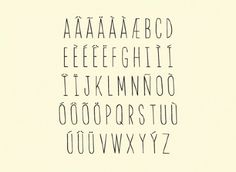 innomme - DAVID TORR #font #alphabet #letters #typography