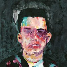 Matthew Dear Beams Complete on Behance #portrait #painting