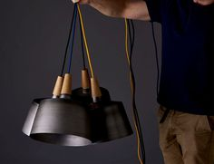 Morse Pendant Light by Noddy Boffin - lights, lamp, lighting #design, #lighting, product design, #design, industrial design, object design