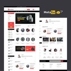#Auto #Parts #MetaGo - #Opencart #MultiPurpose #Responsive #Theme | #TemplateTrip #eCommerce #Website #Design #Template