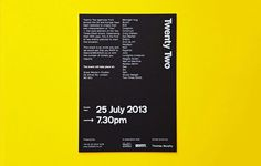 Five years of two times elliott #layout #poster #typography