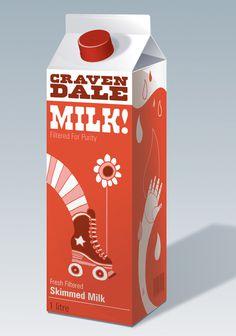 Cravendale Milk. Illustration by Allan Deas www.allandeas.com