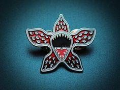 DEMOGORGON enamel pin #strangerthings #demogorgon #enamel pin #badge #pin #80s #netflix #