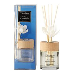 Fragrant Solar Flower Diffuser Lotus Flower & Topaz Water, 80 ml