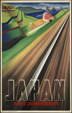 All sizes | Japan | Flickr Photo Sharing! #train #travel #poster