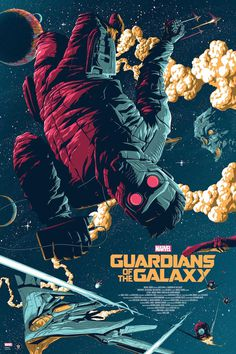 Guardians of the Galaxy Poster by Florey