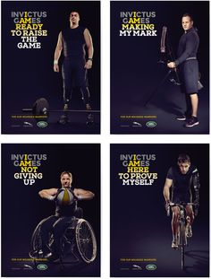 New Logo and Identity for Invictus Games by Lambie-Nairn #i #am
