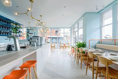 Captain Grey – Elegant Art Deco-Styled Cafe by Biasol